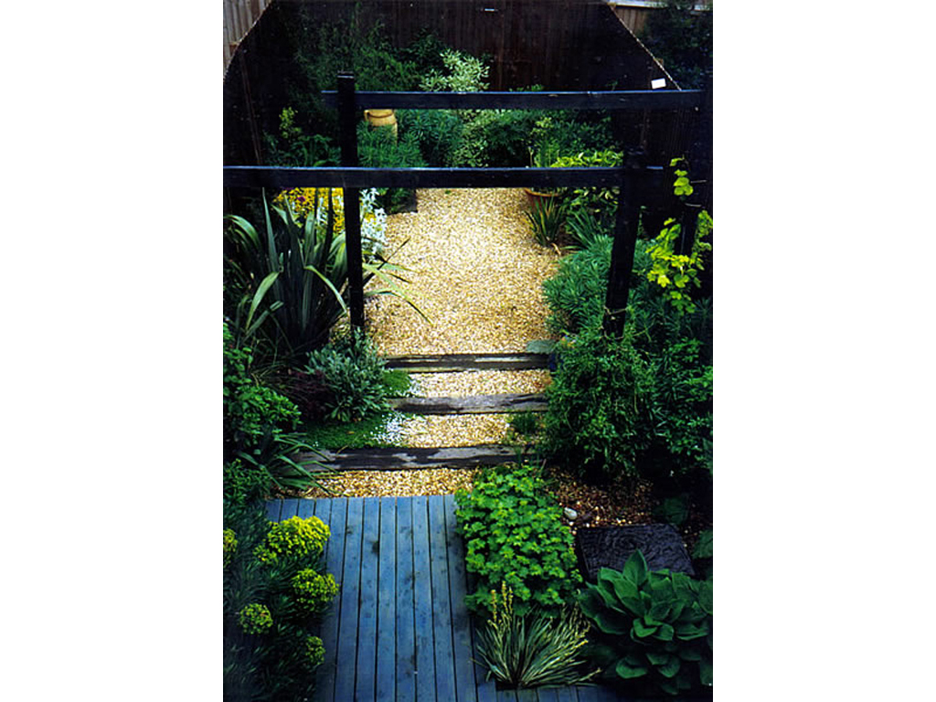 1999 winner domestic garden, Hemel Hempstead, Herts