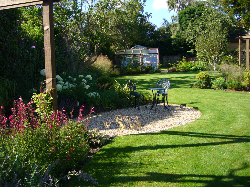 2007 winner domestic garden construction between £20,000 - £50,000, Scaldwell, Northampton