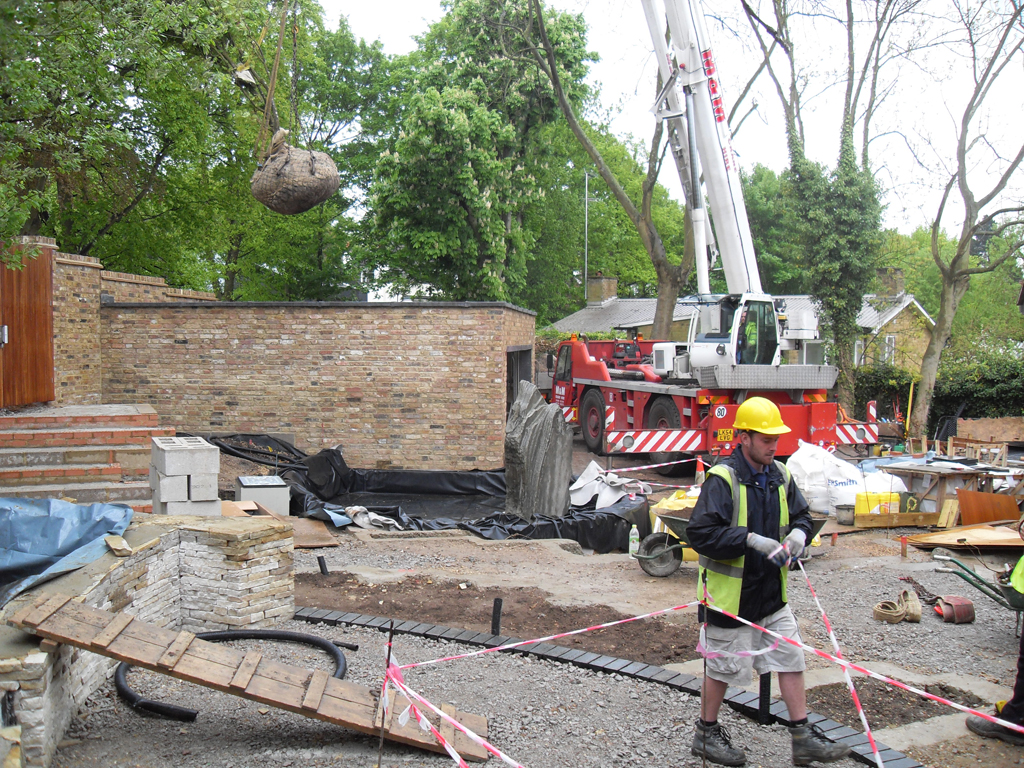 Commercial landscaping and tree planting Herts