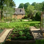 Kitchen garden design, Northamptonshire