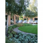 Commercial Offices landscape design by James Scott