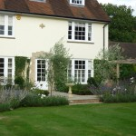Garden terrace design, near Hemel Hempstead, Herts