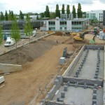 Landscape construction corporate head office, Welwyn Garden City