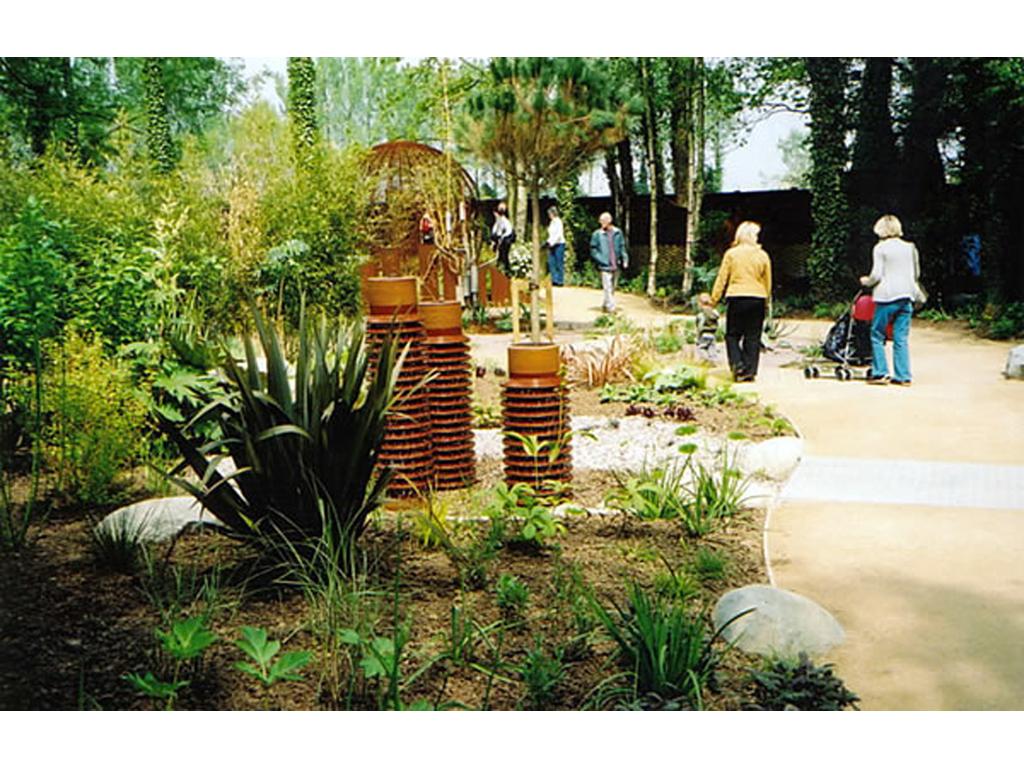 Springfields Horticultural Show Garden