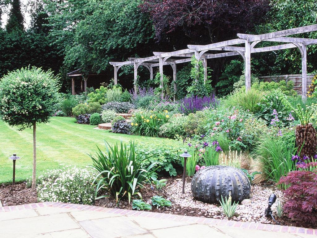 Prepossessing 60 medium garden design inspiration of for Medium garden design