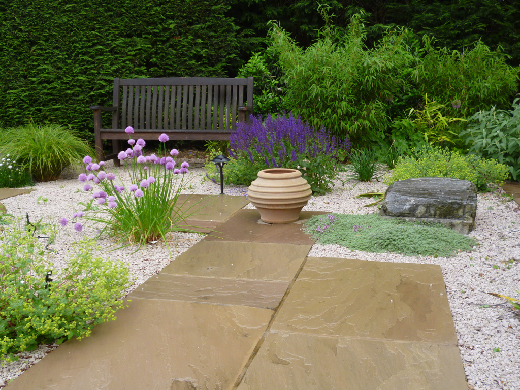 Garden design near Harpenden, Hertfordshire