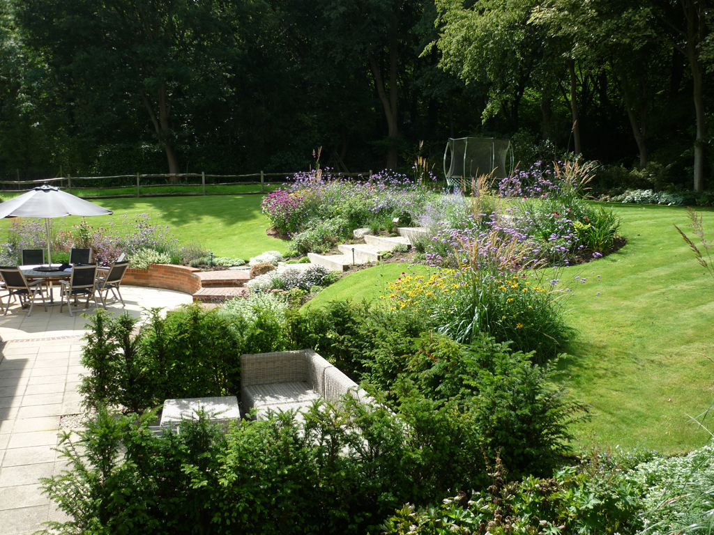 Garden design Rickmansworth Herts