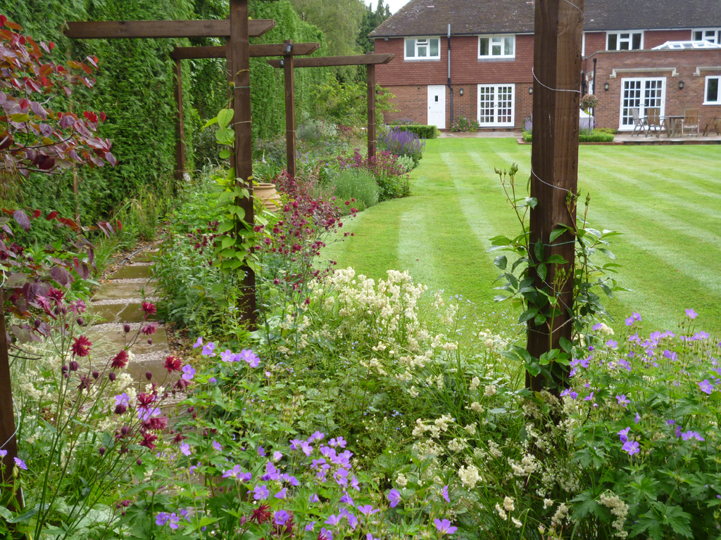 Garden Design Welwyn Hertfordshire Designed By James Scott MSGD | The Garden Company