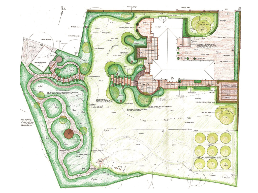 Garden Design family home in Rickmansworth, Herts