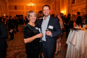 James and Helen Scott at the SGD Awards 2015