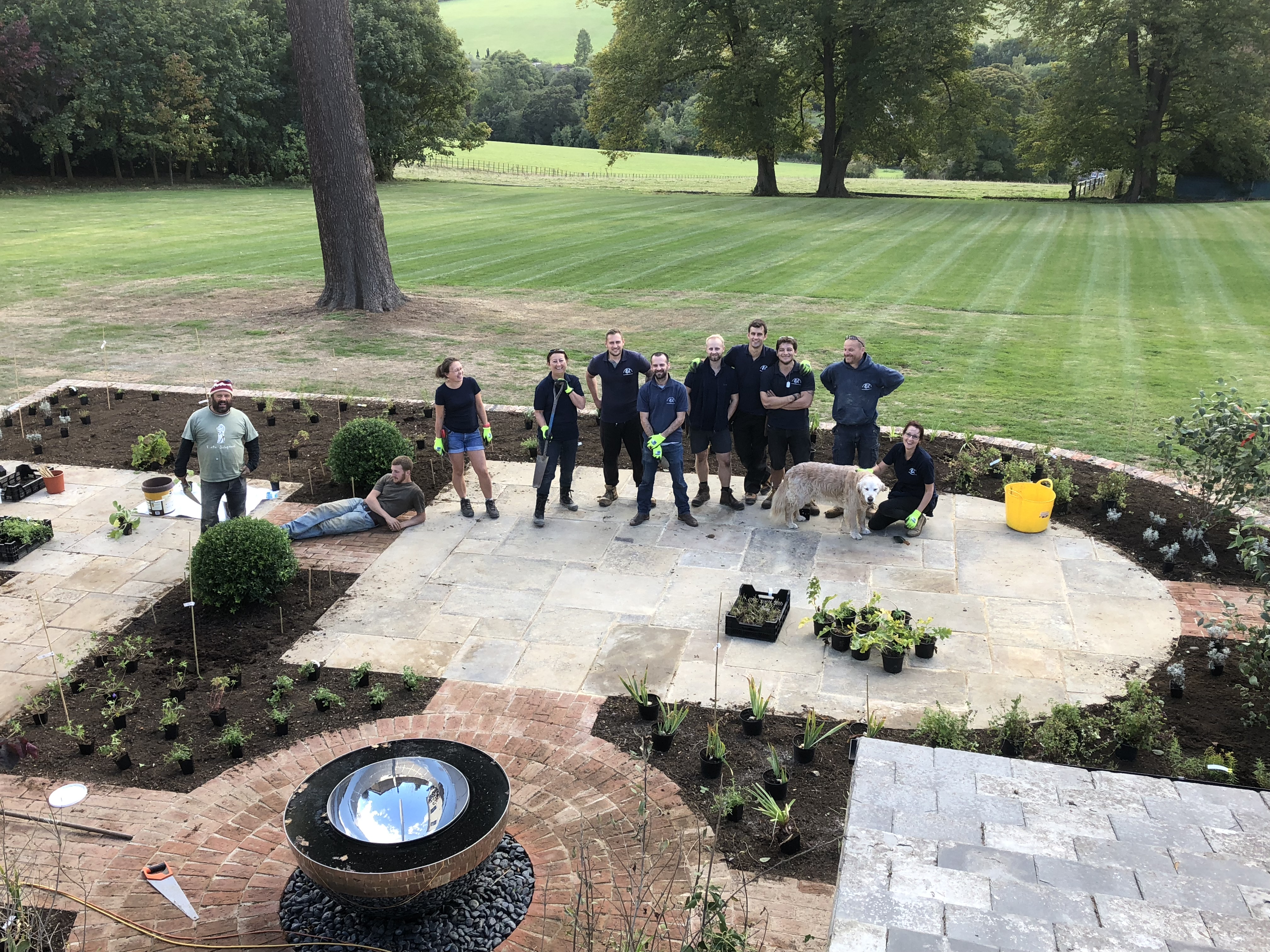 Garden Company team members