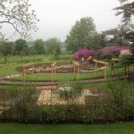 Gaddesden Place, lovely garden with beautiful view over the Chilterns – June