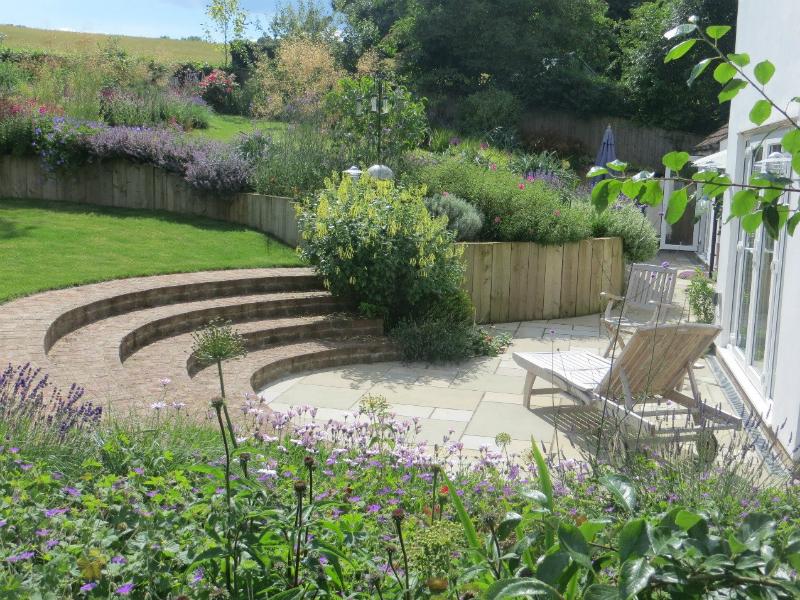 A garden set in a beautiful Hertfordshire landscape