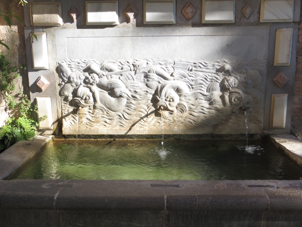 Alhambra Water Trough