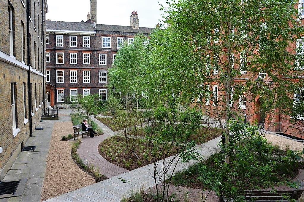 A place for contemplation in the heart of legal London