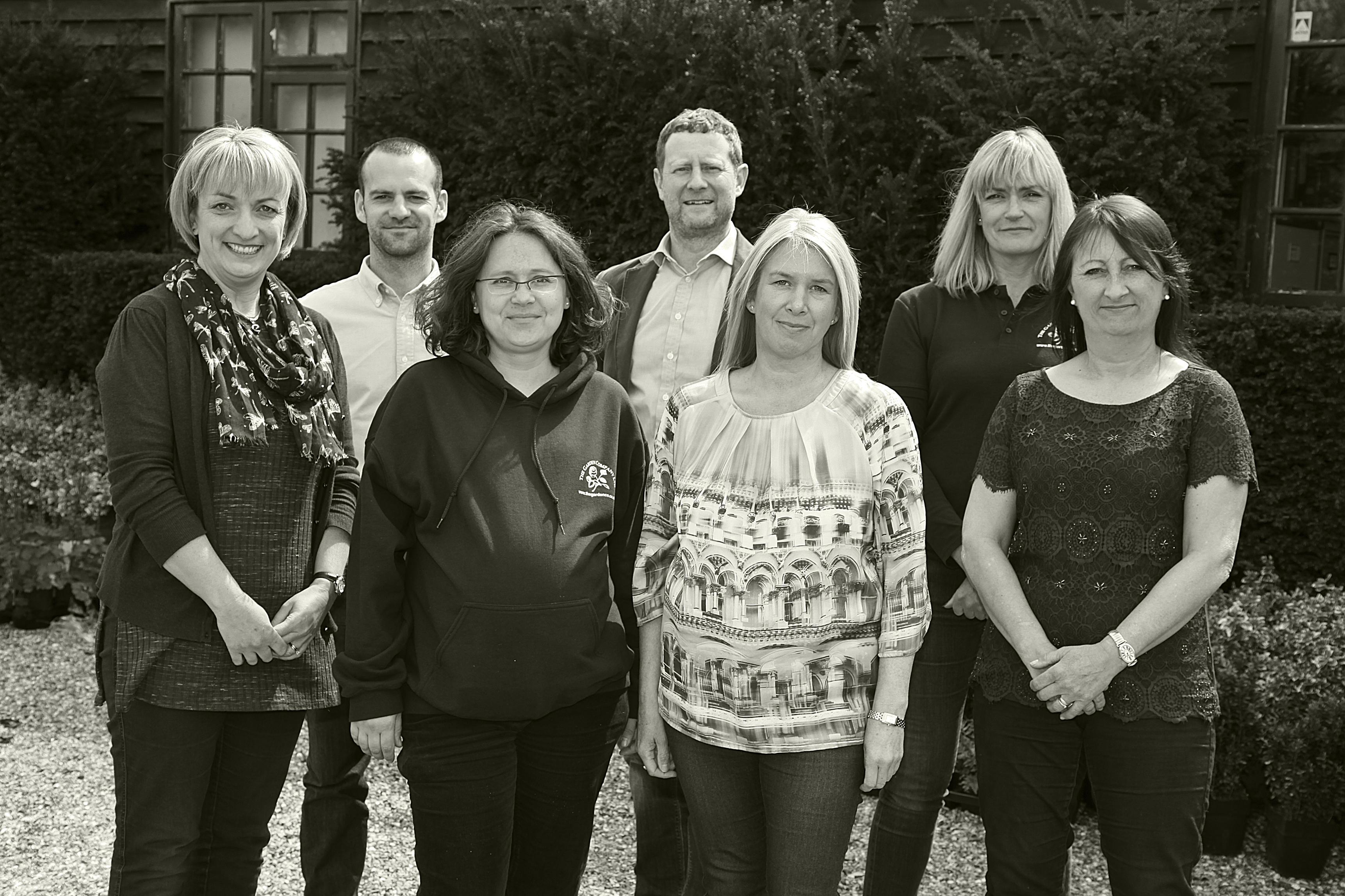 Garden Company managers and office team
