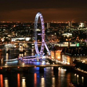 A view from Skyloft, London