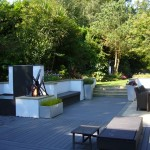 BALI Award Winning terrace area designed by Andew Wenham MSGD