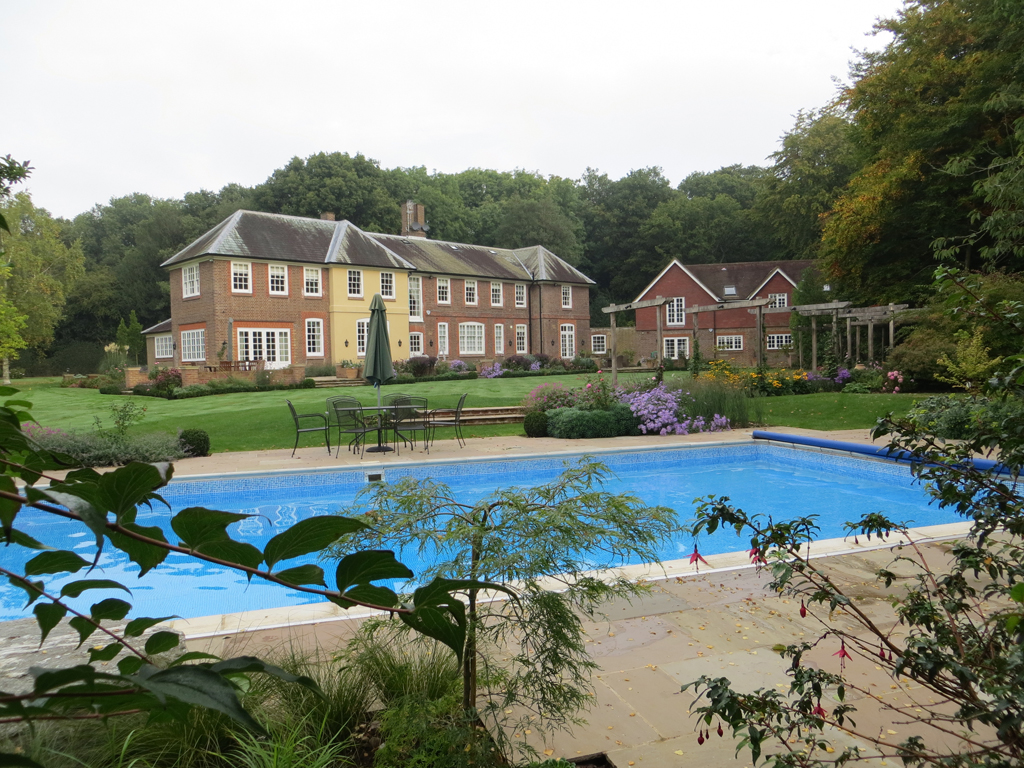 Large garden design, private residence near Hemel Hempstead
