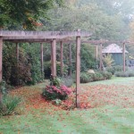 Pergola walkway, Berkhamsted, near Hemel Hempstead, Herts