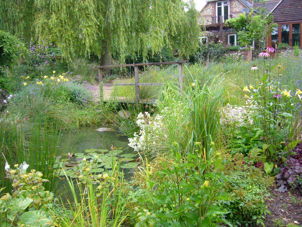 Wildlife garden design private residence near Hemel Hempstead