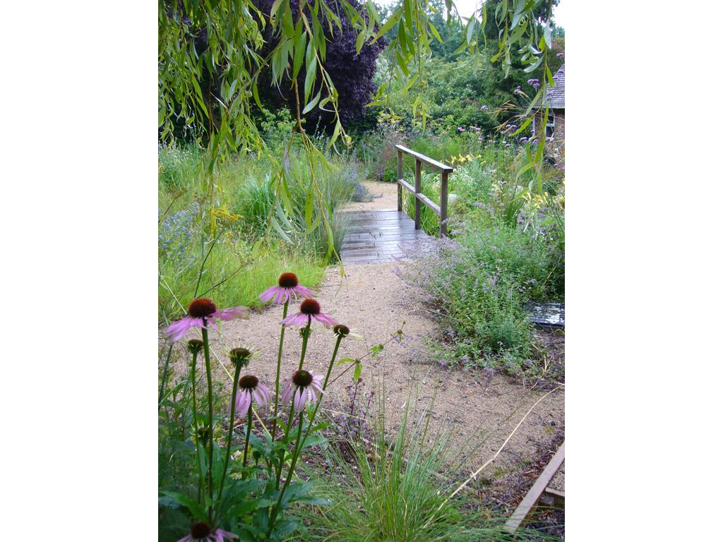 Wildlife garden garden near Hemel Hempstead, Herts