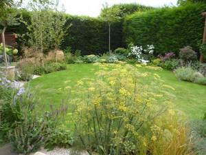 Garden design, Croxley Green, Rickmansworth, Herts