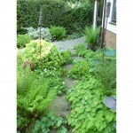 Shady garden design, Leighton Buzzard, Beds