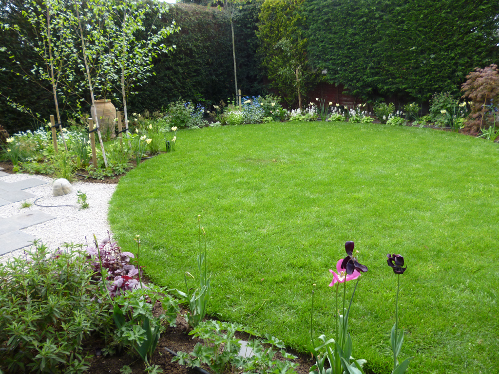 Garden design near Watford, Herts