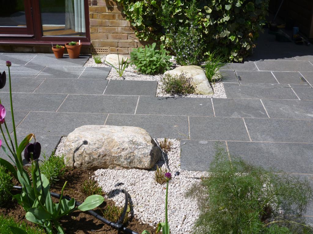 Garden design near Watford Hertfordshire