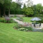 Garden design, near Watford, Herts