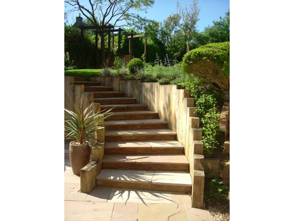 Garden design near Milton Keynes, Buckinghamshire