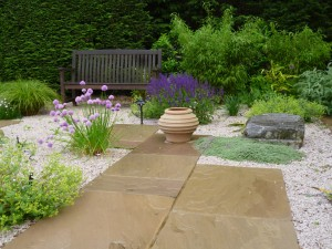 Garden design near Harpenden, Hertfordshire