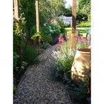 Pergola walkway Northamptonshire