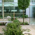 Landscape design & build Corporate Head Office WGC Herts