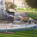 Landscape construction, London