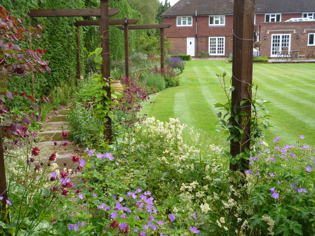 Garden design, Welwyn Garden City, Hertfordshire