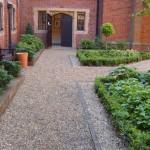 Hotel courtyard planting Ware, Hertfordshire