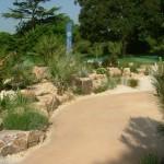Mediterranean beach garden at the Royal Botanical Gardens Kew