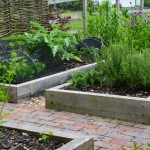 5. Bring a kitchen garden into the ornamental space